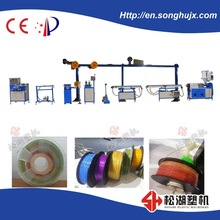 Plastic 3D printer filament making machine/extruder