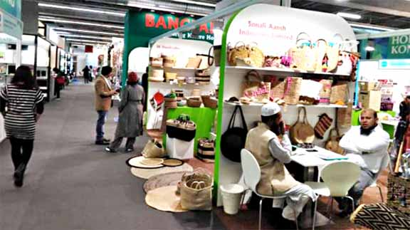 Bangladeshi jute goods, handicraft draw attention in German