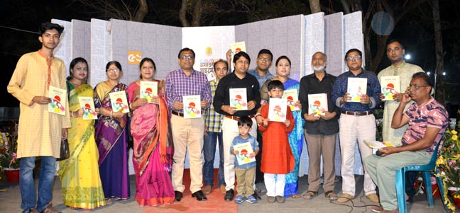 Arittro is the youngest writer at Ekushey book fair