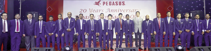 Pegasus Bangladesh Office celebrates 20 Years Anniversary