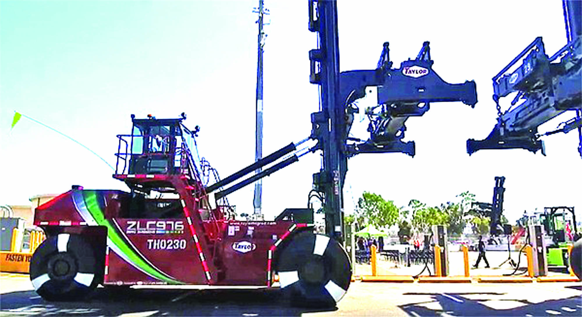 World's First Zero Emissions Handlers Introduced at LA Port