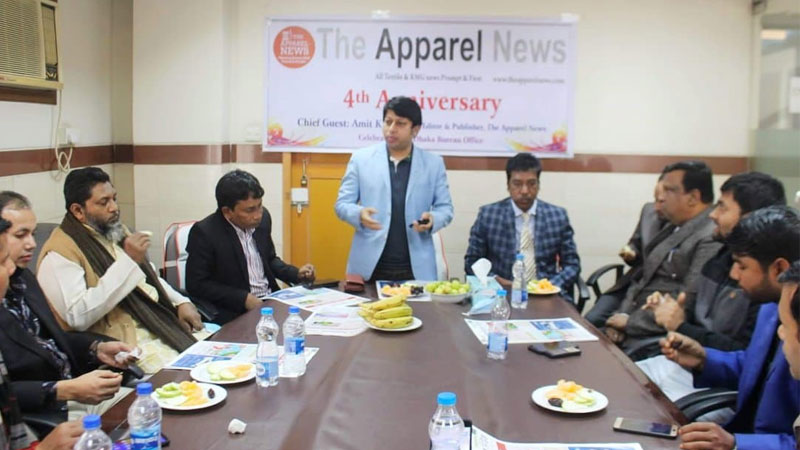 4th anniv of The Apparel News celebrated