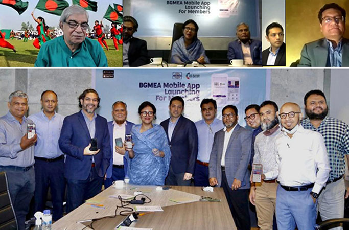 BGMEA launches mobile app for its members