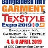 4th Bangladesh Int'l Garment & Texstyle Expo 4-6 April