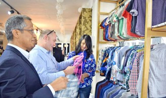 Zaber and Zubair fabric week attracts global buyers