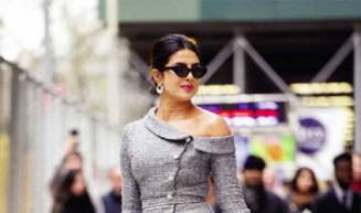 "Priyanka Chopra Puts a Downtown Twist on the Classic ""Ladies Who Lunch"" Look"